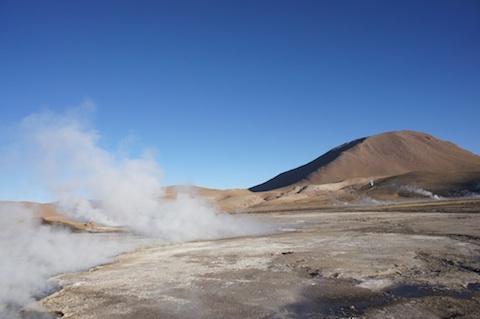 Tatio geyser
