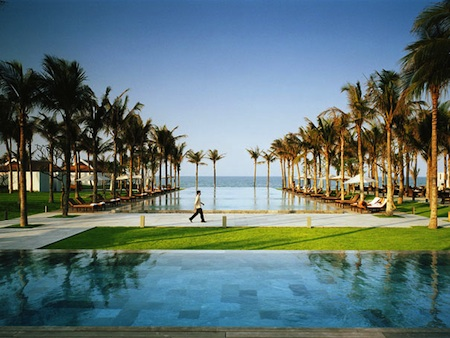 Luxury beach resort in Vietnam