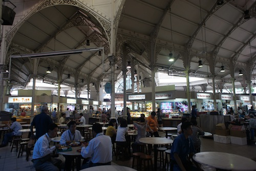 hawker centre in Singapore CBD