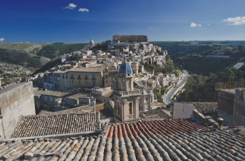 sicily hill town