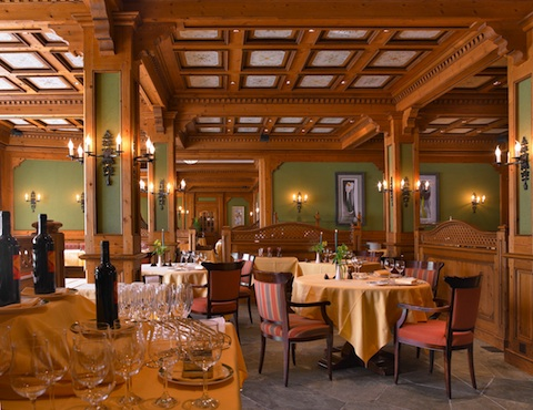 Five star dining Zermatt