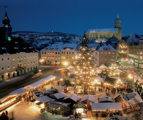 winter christmas market germany