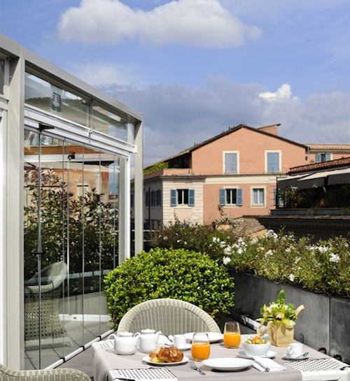 Babuino 181 rooftop terrace
