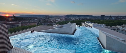 B2 Boutique Hotel Zurich pool
