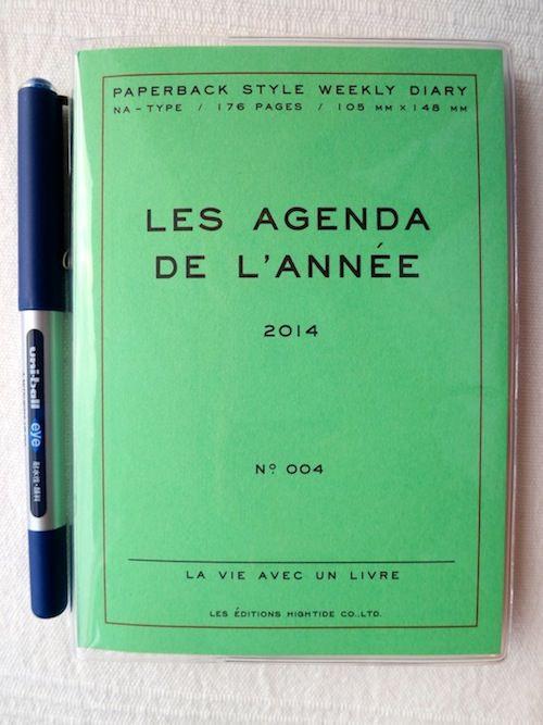 japanese notebook agenda hightide