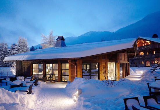 top ski hotels in france
