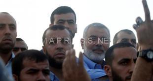 إسماعيل هنية: رفع الحصار قاب قوسين أو أدنى من النهاية