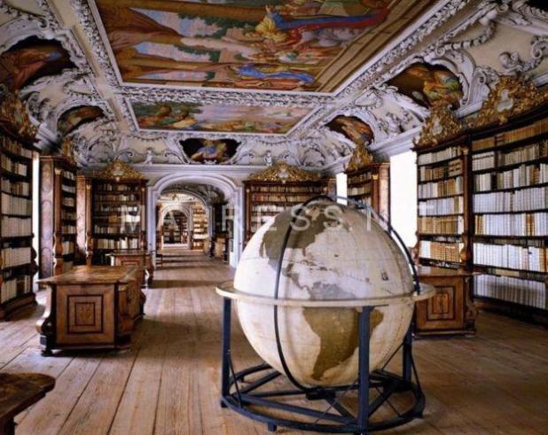 Biblioteca de la Abadía de Kremsmünster