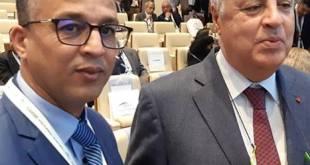 عبد الحق مجاھد شاب مغربي أبھر العالم في منتدى الأعمال العربي الإیطالي