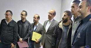 رابطة الصحافيين الرياضيين المغاربة ترحب بصلح بانون ووحيد