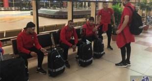 منتخب الكرة الشاطئية المغربي يصل إلى شرم الشيخ