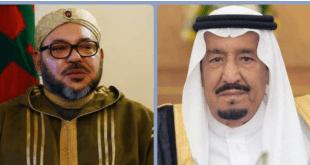 العاهلان السعودي والمغربي يستعرضان الأحداث الدولية والإقليمية