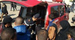 إصابة 20 امرأة بحادث إنقلاب حافلة في أزيلال