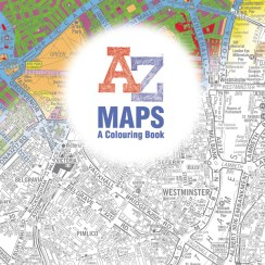 A-Z Maps: A Colouring Book
