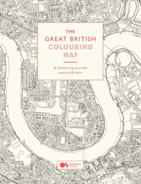 The Great British Colouring Map