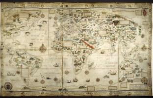 2. Desceliers Map (1550)
