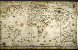 2. Desceliers Map (1550)