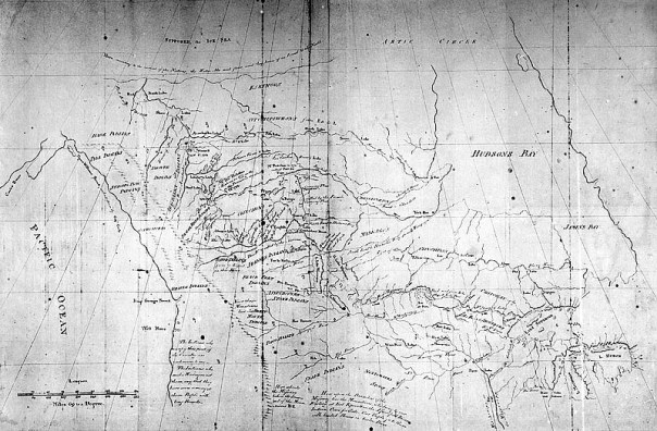 5. Peter Pond's Map (1785)