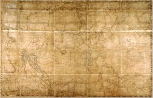 8. Thompson's Map of the North-West Territory (1814)