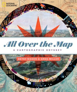 Book cover: All Over the Map