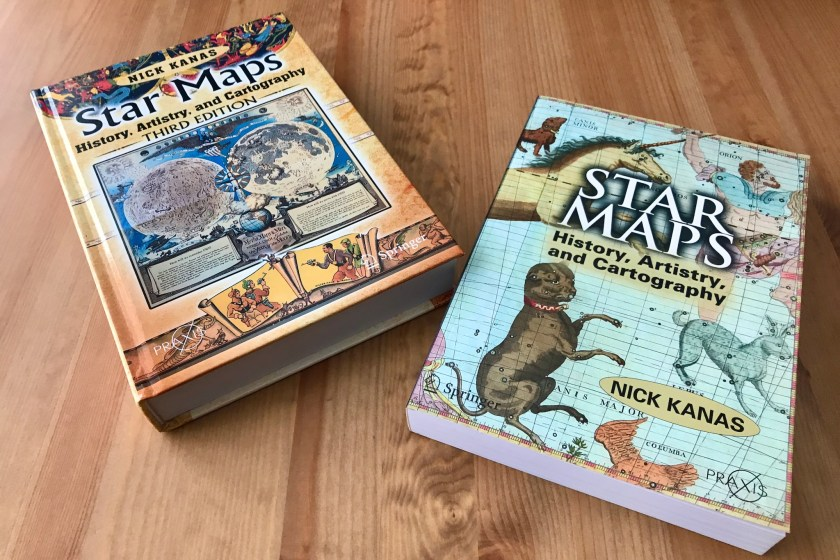 Two editions of Star Maps