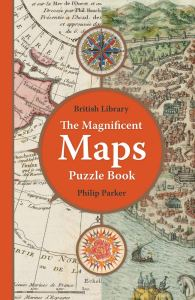 The Magnificent Maps Puzzle Book (cover)