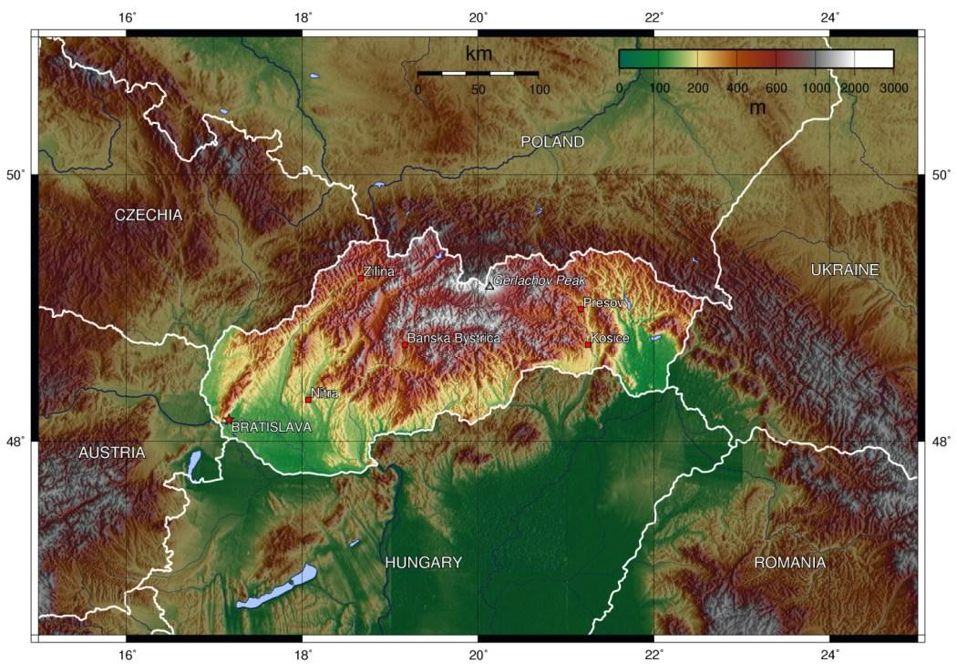 10 curiosità su Bratislava e sulla Slovacchia - Mapsofeurope.net