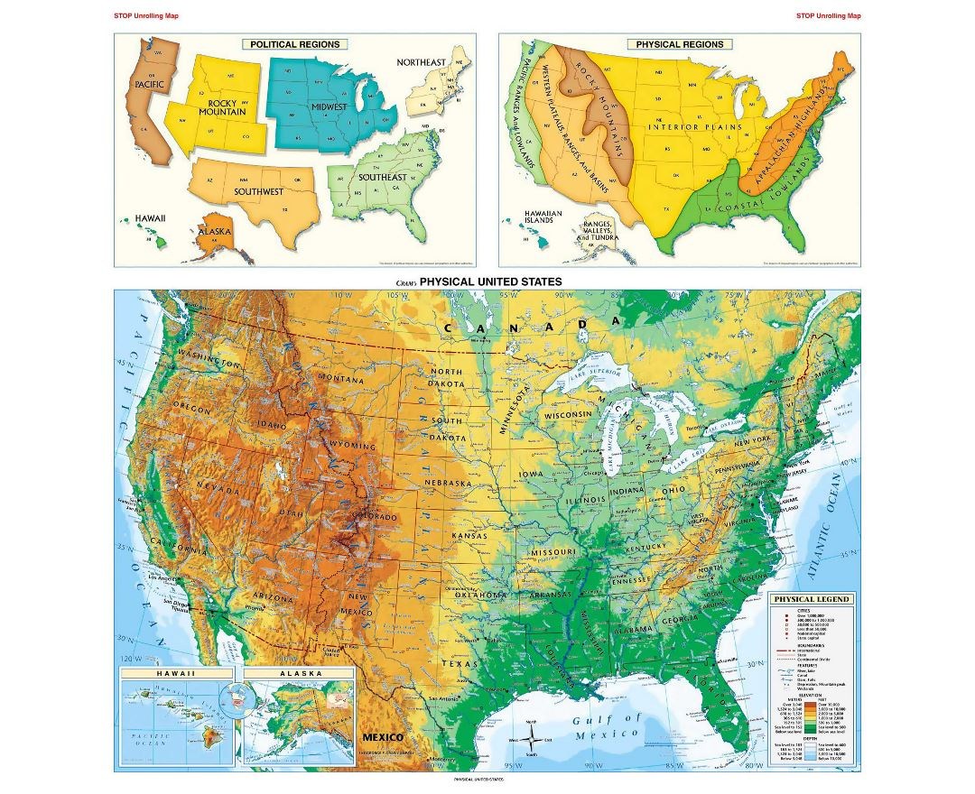 Maps Of The Usa The United States Of America