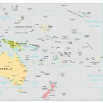 Maps Of Australia And Oceania And Oceanian Countries Political Maps Administrative And Road Maps Physical And Topographical Maps Of Australia And Oceania With Countries Maps Of The World