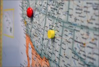 Magnetic Wall Maps