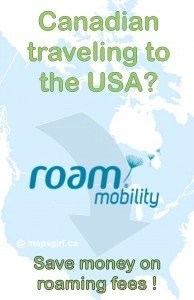 Canadian traveling to the USA? Save money on roaming fees!