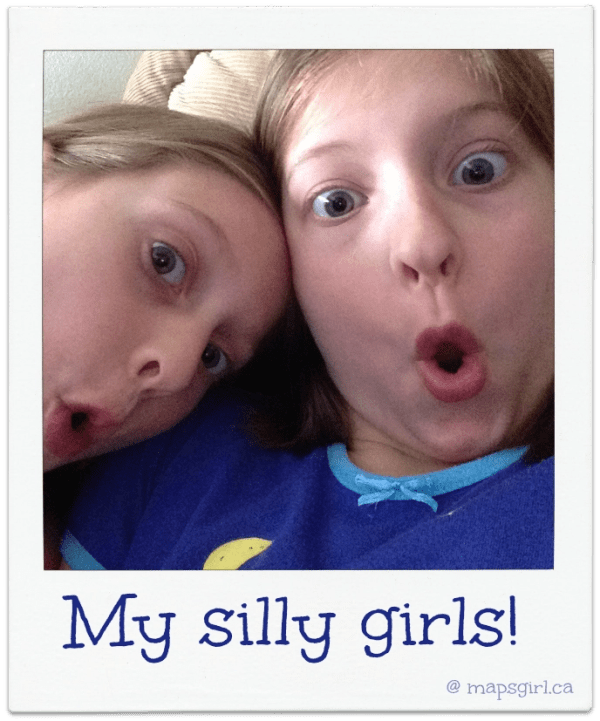 Wordless Wednesday - Silly Girls
