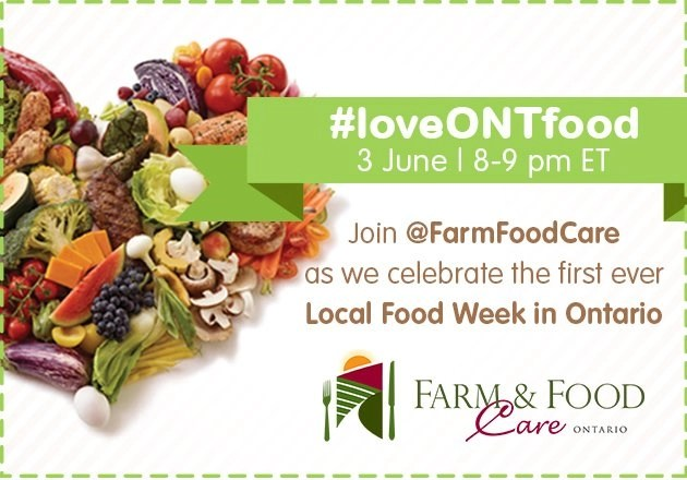 Celebrate local food! #loveONTfood