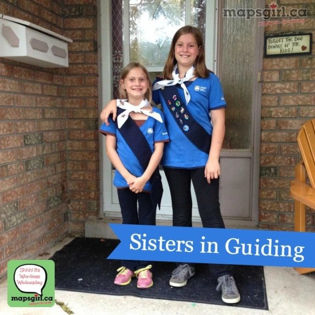 Sisters in Guiding #WordlessWednesday