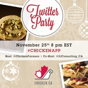 #ChickenApp Twitter Party - Nov 25 8pm EST
