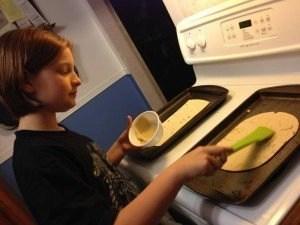 Hummus Chicken Avacado Flatbread #ChickenDotCA