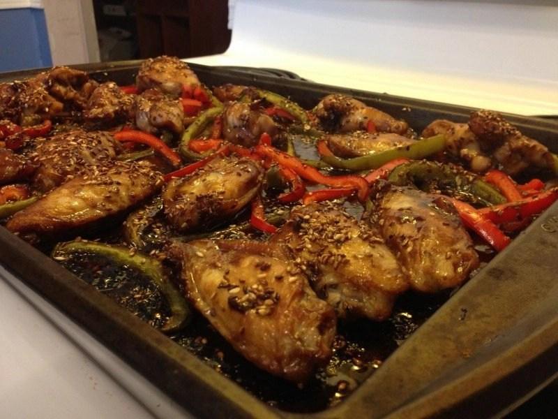 Asian Chicken Wings Appetizer @ mapsgirl.ca #ChickenDotCa #ChickenApp