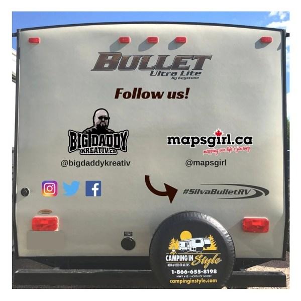 #SIlvaBulletRV @ mapsgirl.ca