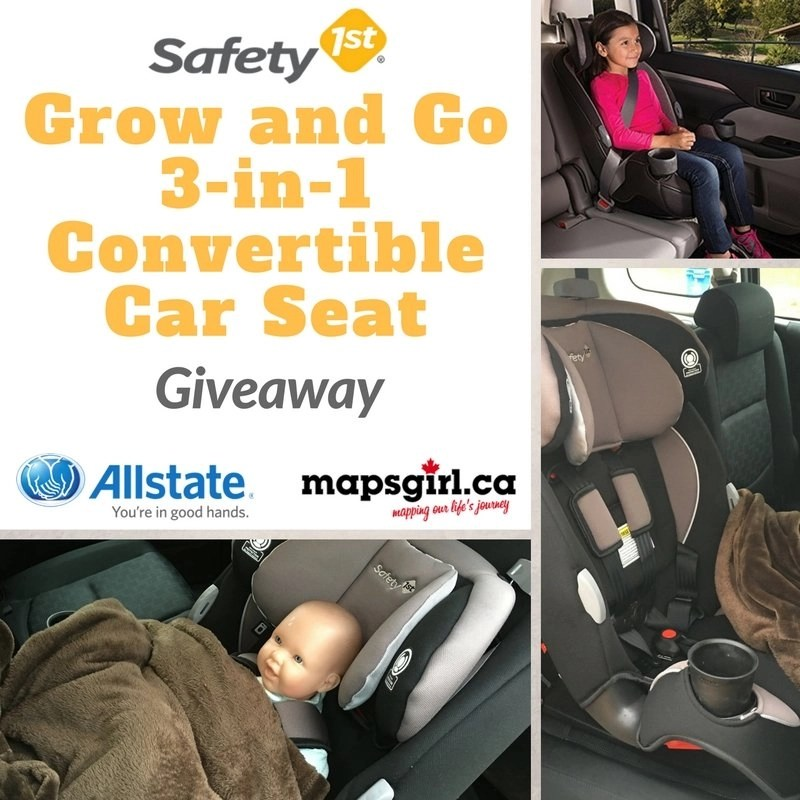 Enter To Win A Safety 1st Grow And Go 3 In 1 Convertible Car Seat