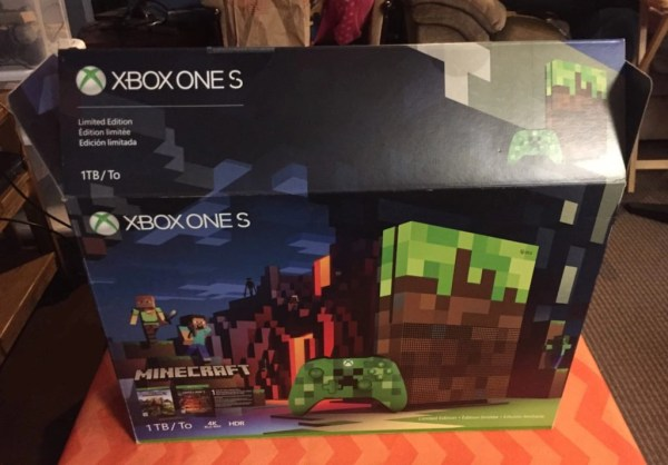 Xbox One S Box @ mapsgirl.ca