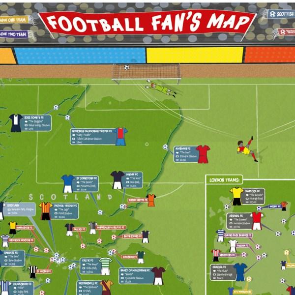 Map Of London Football Teams Imgurl