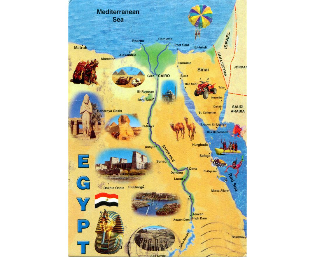 Maps Of Egypt
