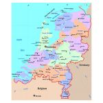 Maps Of Netherlands Collection Of Maps Of Holland Europe Mapsland Maps Of The World