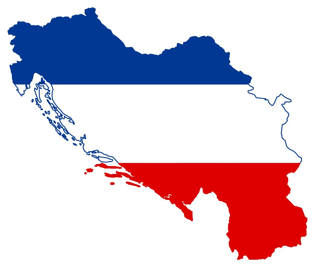 Yugoslavia Flag Coloring Pages