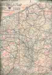 Pennsylvania In Old Road Atlases 1921 1925