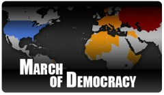 The Maps of War March of Democracy