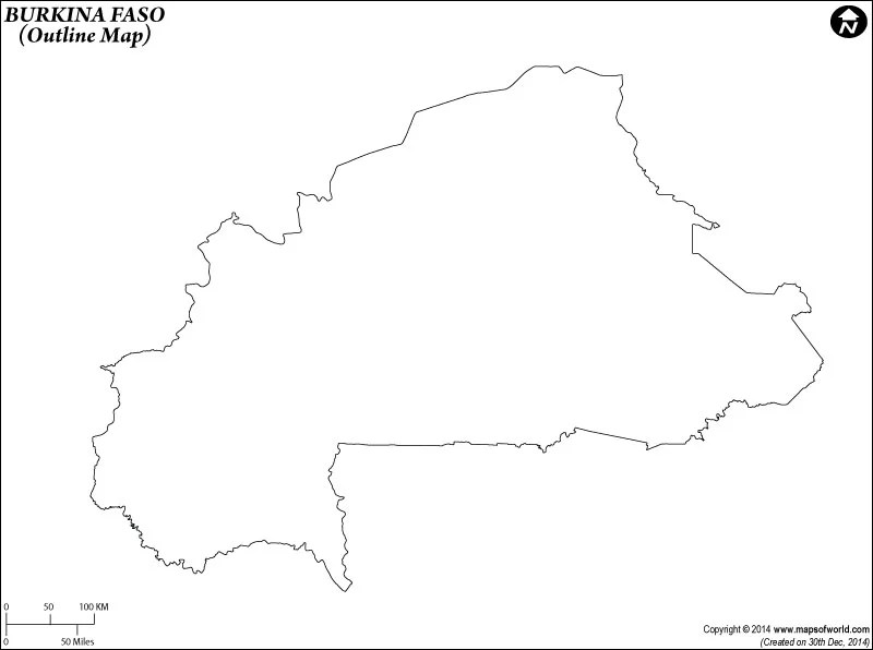 World Map Blank Outline