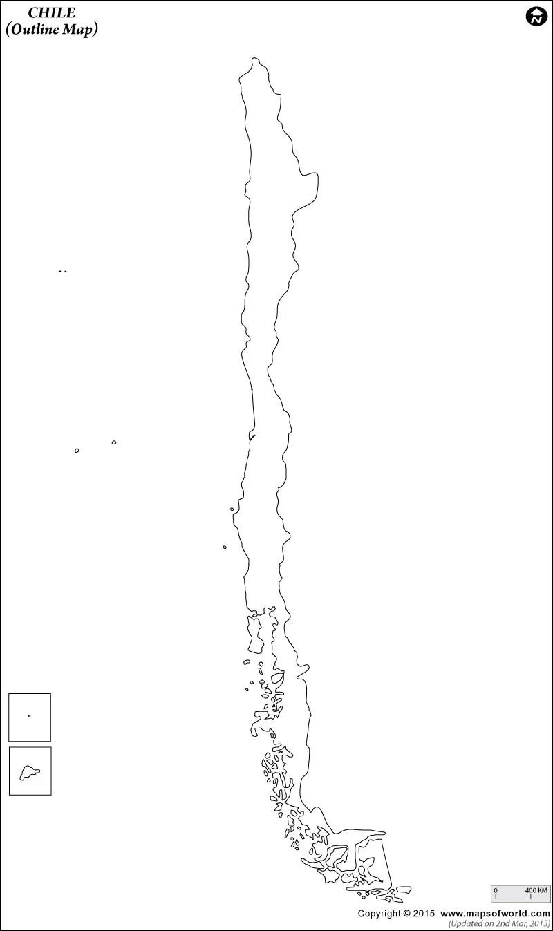 Esquema del Mapa de Chile