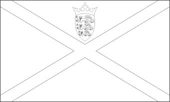Jersey Flag, Flag of Jersey