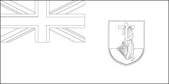 Montserrat Flag, Flag of Montserrat